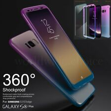 Hybrid 360° Hard PC Slim Case Screen Protector Cover For Samsung Galaxy S8 Plus