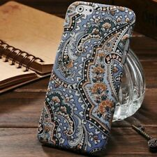For Apple iPhone 6 6s Case Fashion Style Flower Hard Cover Skin Patterned Fabric