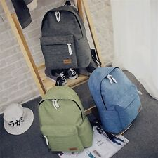 Women Canvas Backpacks Ladies Shoulder School Bag Rucksack For Girls Travel bag