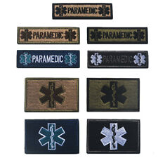 Star of Life Rod of Asclepius Paramedic Military Tactical Medical EMS EMT Patch