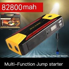 82800mAh Pack Car Jump Starter Emergency Charger Booster Power Bank Battery 600A