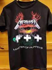 New METALLICA MASTER OF PUPPETS 2 SIDED  LICENSED CONCERT BAND  T Shirt