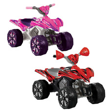 NEW: 6V Battery Toddler Kids Electric Power Ride On Toy; Quad Bike 4 Wheeler Car