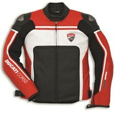 Ducati Dainese CORSE ´14 Leather Jacket Leather Jacket Red Perforated NEW