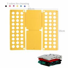 Clothes T-Shirt Folder fast Folding Board Flip Fold For Adult Child Laundry LE