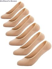 Women's No Show Liner Socks 6 Pairs Thin Low Cut Casual Non Slip
