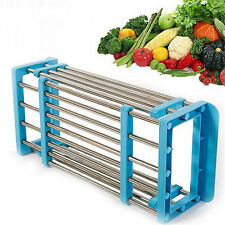 1PC Retractable Vegetables Basket Sink Drain Storage Rack Storage Rack Kitchen