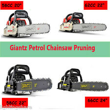 Giantz 58/62/66/88CC Petrol Commercial Chainsaw E-Start Tree Pruning Chain Saw