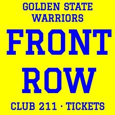 GOLDEN STATE WARRIORS vs MINNESOTA TIMBERWOLVES · 11/8 · FRONT ROW CLUB TICKETS