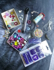Jewelry-Making DIY Bead Sets in Wooden, Plastic, Clear, Pony/Kandi, and Glowing