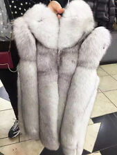 Women Faux Fur Slim Vest Outwear Winter Gilet Ladies Fashion Jacket Coat