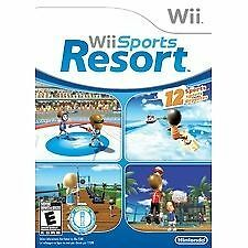 Wii Sports Resort (Nintendo Wii, 2009) In EUC, Complete Wii Game with Manual