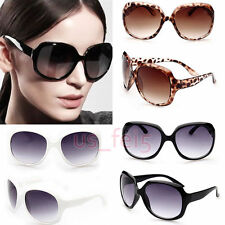 Hot Retro Fashion Big Style Womens Vintage Sunglasses Shades Oversized Designer