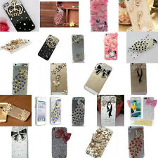 Handmade Crystal Diamond DIY Clear Scratch Resistant Cover Case For iPhone 5 5s