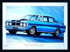 1971 FORD XY FALCON GT-HO PHASE 3 LIMITED EDITION PRINT OR FRAMED