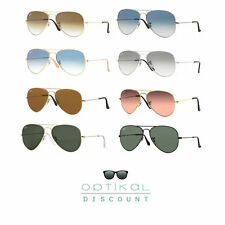 sunglasses RAY BAN 3025 RB3025 large metal AVIATOR man woman sunglasses