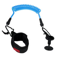Adjustable Body Board Safety Wrist Strap Boogie Board Coiled Leash with Plug