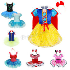 Fairy Girls Kids Halloween Cosplay Dress Costume Ballet Tutu Skirt Party Outfits