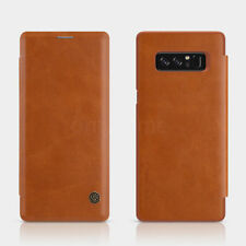 NILLKIN Slim Flip Leather Smart View Window Case Cover For Samsung Galaxy Note 8