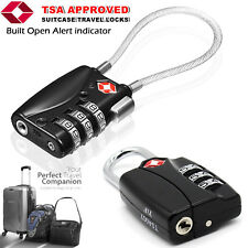 TOP Security 3 Combination Travel Suitcase TSA APP Luggage Bag Code Lock Padlock