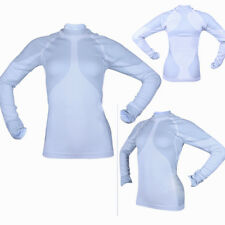 Womens Athletic Apparel Compression Shirts Thermal Running Tops Long Sleeve Tee