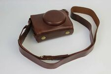 Classic Retro PU Leather Camera Case Bag For Canon G7XII G7X II G7X Mark II