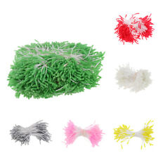 1000x Double Glass Pointed Head Artificial Flower Stamens Wedding Decoration 3mm
