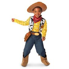 New Disney Store Toy Story Woody Cowboy Halloween Costume 5/6