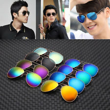 Unisex Women Men Fashion Pilot Mirror Lens Sunglasses Vintage Retro Eyewear Hot