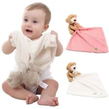 Baby Newborn Infant Appease Towel Plush Toy Bear Doll Reassure Bite