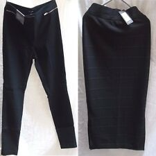 NEW LOOK BLACK WOMENS TROUSES - PENCIL SKIRT  SIZE 10