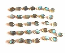 Natural Labradorite Oval Cab Lot Loose Gemstone Oval Labradorite Wolsale Lot