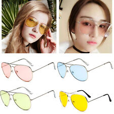 Retro Fashion Unisex Vintage Aviator Sunglasses Glasses Eyewear Shades Women Men