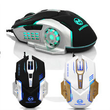 3200 DPI 6D Buttons LED Mechanical Wired Gaming Mouse For PC Mice OR Laptop