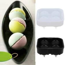 Ball Silicon Ice Cube Ball Maker Mold Sphere Mould Brick Tray Round Party
