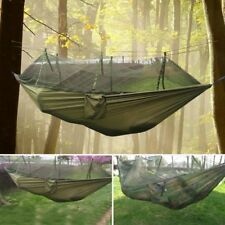 Outdoor Jungle Camping Hammock Tent Hanging Travel Bed With Mosquito Net Army