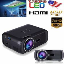 7000Lumens LED HD 1080p Projector Home Multimedia Cinema AV TV VGA USB HDMI FB