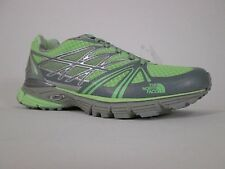 NEW The North Face Women's Ultra Equity Trail Running Shoe, Green Grey, NIB