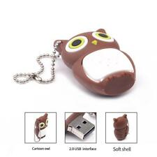 Brown Owl USB Flash Drive Pen Drive Pendrive 4-32GB for Computer Magideal