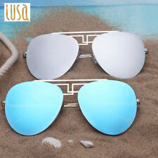 New Retro Fashion Unisex Women Men Aviator Sunglasses Vintage Shades Eyewear