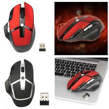 Adjustable 2400DPI Optical 2.4G Wireless Gaming Mouse for PC Laptop Magideal