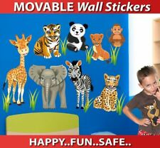 Zoo Animals Movable Wall Sticker