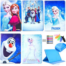 For iPad 2nd/3rd/4th Gen characters frozen cartoon stand cover tablet case