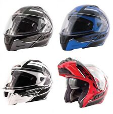 Zox Condor SVS Vision Modular Helmet with built in sun visor DOT ECE Approved