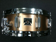 Tama 40th Superstar Anniversary Bell Brass 5x14 Snare Drum  Free Shipping World