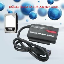 """NEW 891U3 USB 3.0 to 2.5"""" 3.5"""" HDD SATA IDE Adapter Converter+Power Cable XB"""