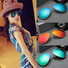 Polarized Retro Unisex Vintage Aviator Sunglasses Women Men UV400 Shades Fashion