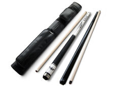 Champion White Spider Billiard Pool Cue, Nemesis Jump& break cue, 2X2 Black Case
