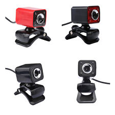 USB 2.0 720P 12MP 4 LEDs Webcam Web Cam Camera w/ MIC for PC Laptop MagiDeal
