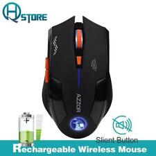 AZZOR Charged Silent Wireless Optical Mouse 2400DPI Noiseless Gaming Mice